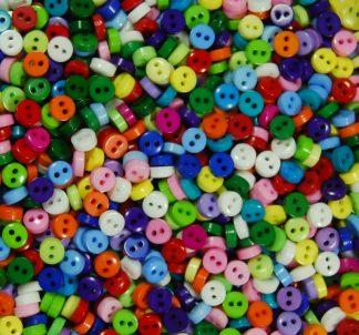 Circle Mini Doll Buttons