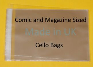 Comic Sized Cello Bags
