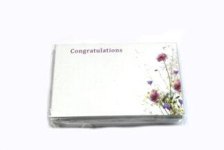 Congratulations - Pastel Flowers