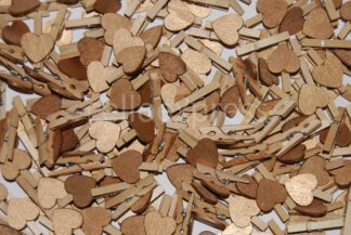 30mm Copper Wooden Pegs