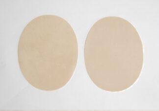 Cream Elbow Patches
