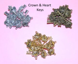 Crown & Heart Keys
