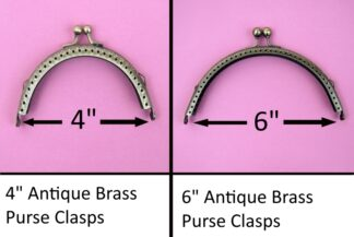 Curved Type 10 Antique Brass