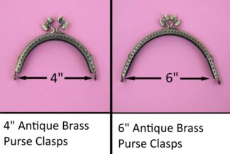 Curved Type 11 Antique Brass
