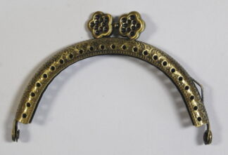Curved Type 26 Antique Brass