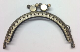 Curved Type 6 Antique Brass