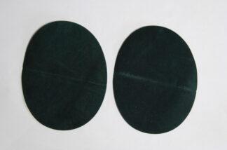 Dark Green Elbow Patches