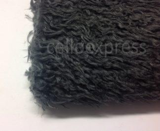 Dark Grey Curly Fur