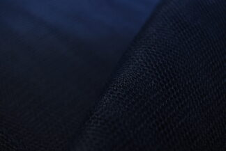 French Navy Tulle Dress Net