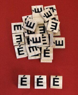Irish Fada Scrabble Tiles