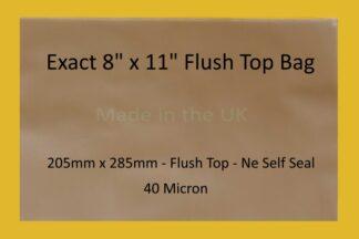 """Exact 8"""" x 11"""" Flush Top Cello"""