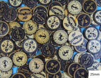 Fancy Buttons 19 - 25mm