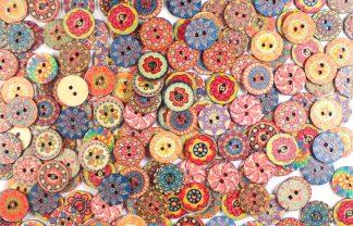 Fancy Buttons 1 - 15mm