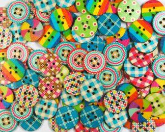 Fancy Buttons 3 - 20mm