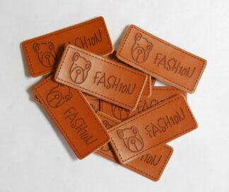 Fashion Teddy Leather Tags