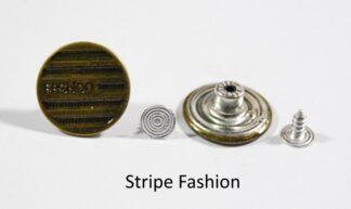 20mm Stripe Fashion Jean Studs