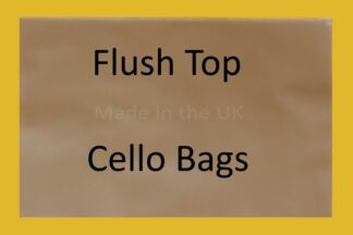 Flush Top Cello Bags