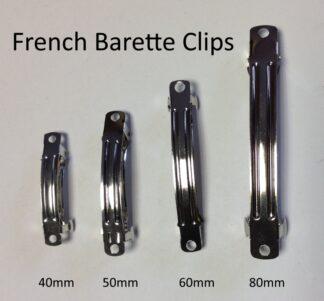 French Barrette Clip