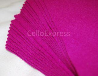 Fuchsia Craft Felt Lengths