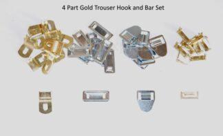 Gold 4 Part Hook and Bar Set