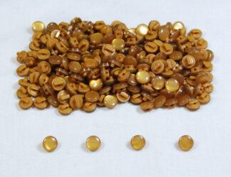 Gold Mushroom Buttons