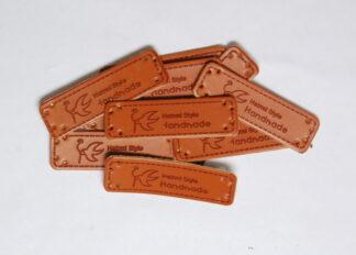 Handmade Hatimi Leather Tags
