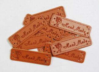 Handmade Lady Leather Tags