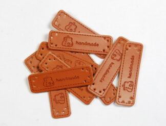 Handmade Purse Leather Tags