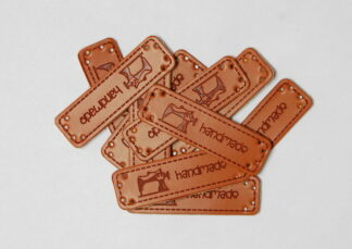 Handmade Sewing Leather Tags