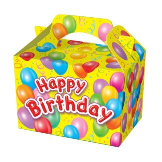 Happy Birthday Party Food Boxes