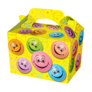Happy Face Party Food Boxes