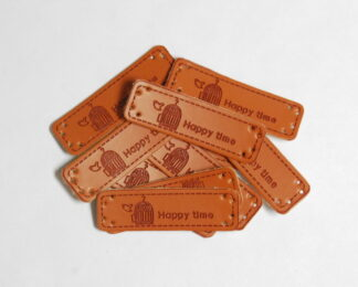 Happytime Leather Tags