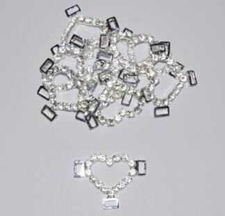 Diamante Effect Buckle Sliders