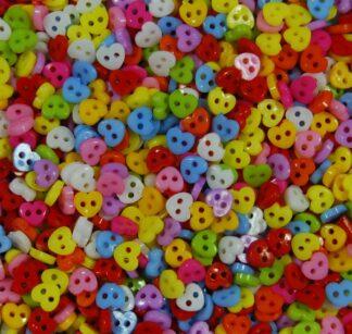 Heart Mini Doll Buttons