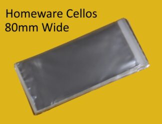80mm Wide Cello Bags