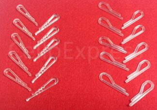 Clear Shirt Clips