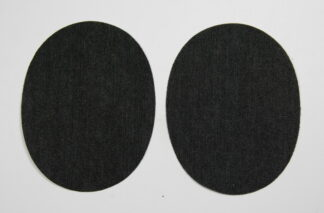 Black Jean Elbow Patches
