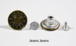 17mm Jean Jeans Jean Studs