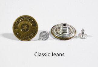 20mm Classic Jeans Jean Studs