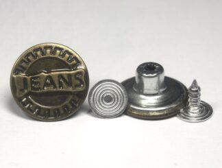 17mm Jeans Cog Jeans Studs