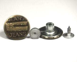 20mm Jeans With Jeans-Jean Studs