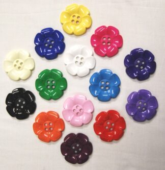 Large Flower Buttons