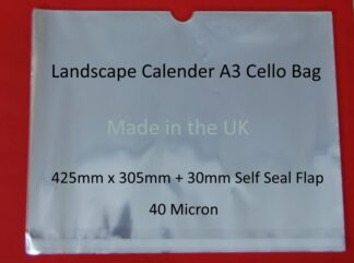Landscape A3 Calendar Cello