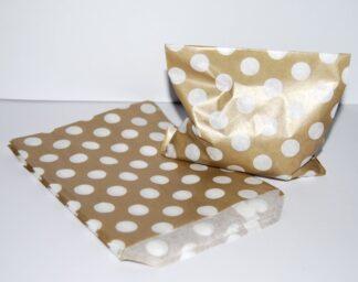 "5"" x 7"" - Latte Paper Sweet Bags"