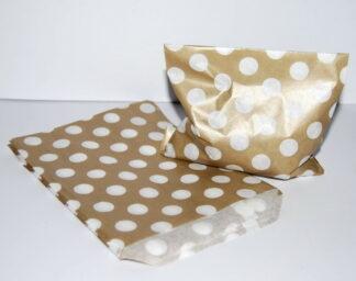 """7"""" X 9"""" - Latte Paper Sweet Bag"""