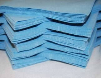 """6"""" Light Blue Felt Squares"""