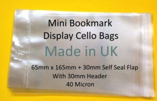 Mini Bookmark Display Cello
