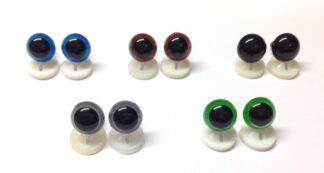 Mix 1 Plastic Back Eyes
