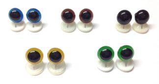Mix 2 Plastic Back Eyes