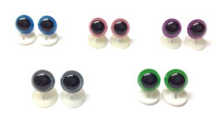 Mix 3 Plastic Back Eyes